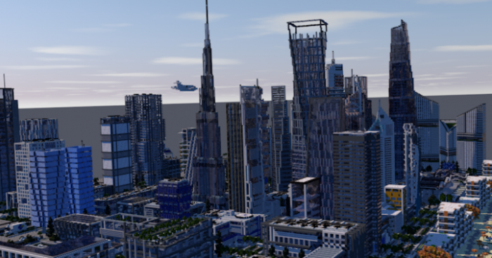 Map UIE City | Modern City 1.11