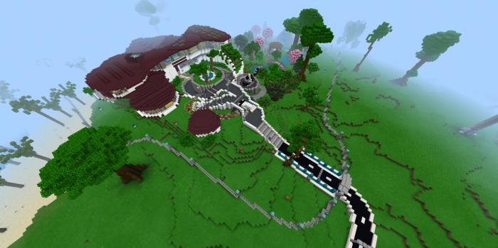 Map Paradise Island 1.10
