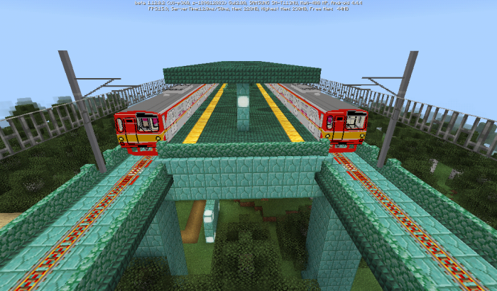 Map Glodelania Railway 1.12