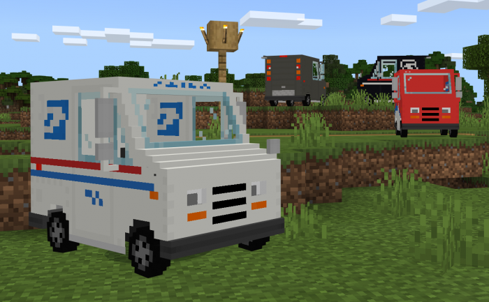 Download Addon Grumman LLV for Minecraft PE - APK | PlanetMCPE