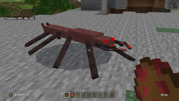 Addon New Mob: Octapede 1.10