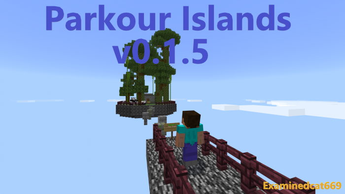 Map Parkour Islands 1.11