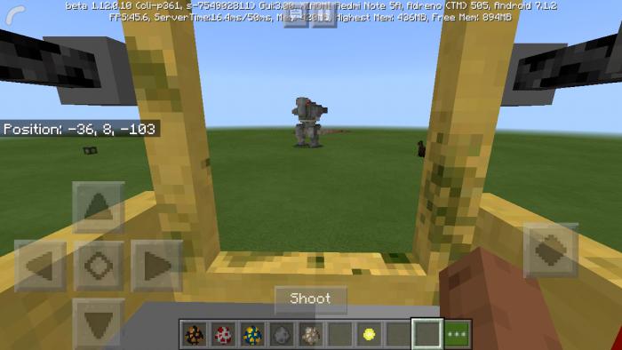 Addon War Robots 1.11
