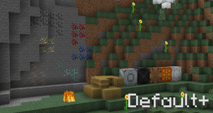 Texture Pack Default+ 1.13