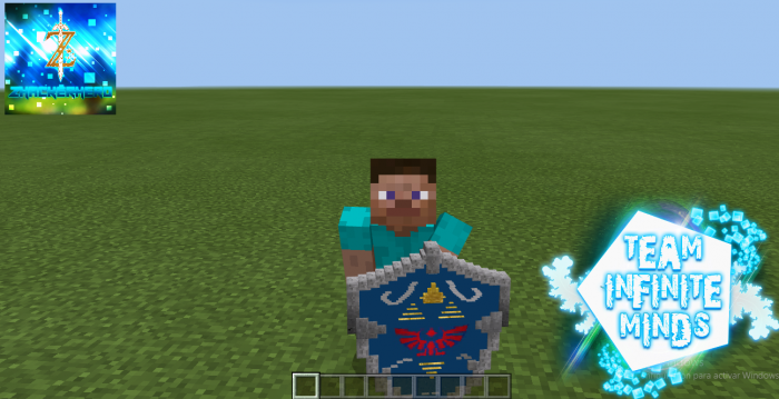 Texture Pack Hylian Shield (Ocarin of Time) 1.13