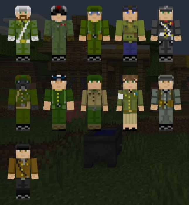 Skin Funiversian Militaries 1.13