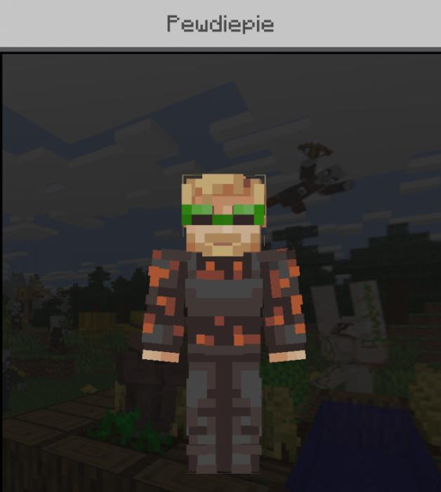 Skin PewDiePie 1.13