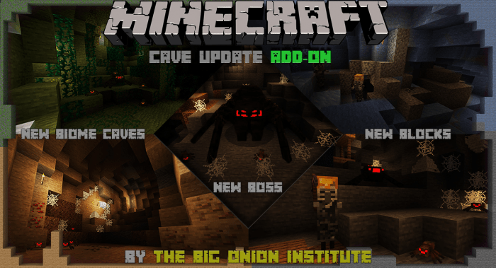 Addon Cave Update 1.13