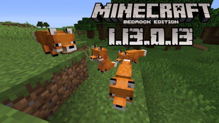 Minecraft PE 1.13.0.13