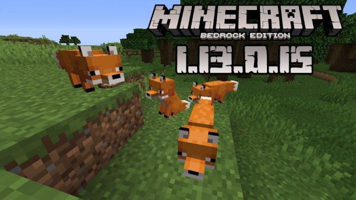 Minecraft PE 1.13.0.15