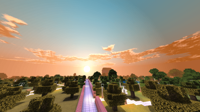 Texture Pack Fabric Light PE Shaders 1.13