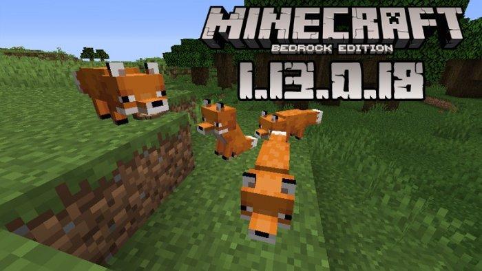 Minecraft PE 1.13.0.18