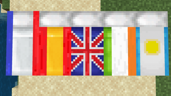 Texture Pack Flags On Beds? 1.13