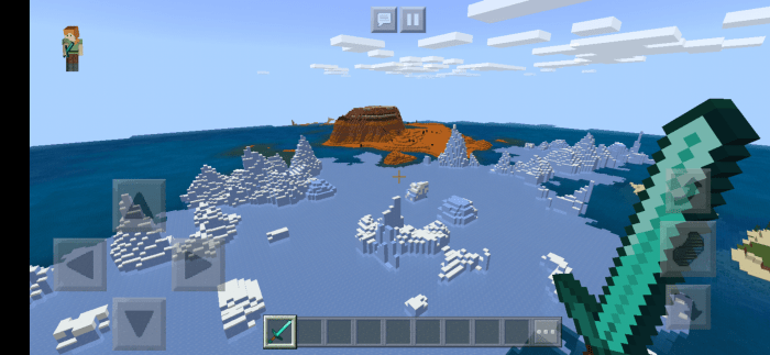 1527586867: Seed Mesa Biome and Ice Spikes At Spawn! 1.13