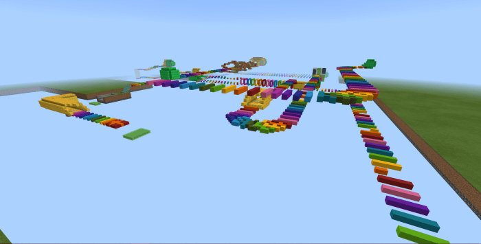 Map Rainbow Run! 1.13