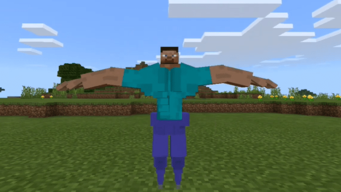 Addon Thicc Steve (Armor Stand) 1.13