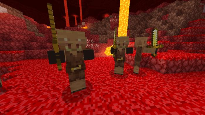 Addon Minecraft Nether Update Concept 1.13